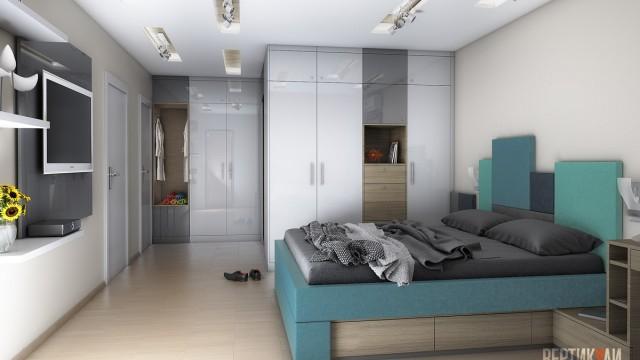 Interior design of apartment