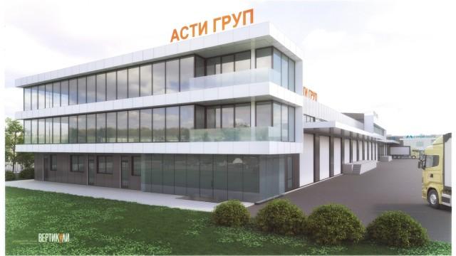 Производствени сгради в ПЗ Север, град Бургас - Проектирано от ВЕРТИКАЛИ - Архитектурно и интериорно проектиране
