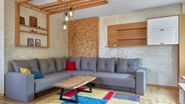 Интериорен проект на апартамент в град Бургас, център - Проектирано от ВЕРТИКАЛИ - Архитектурно и интериорно проектиране