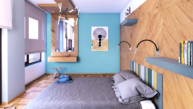 Интериорен проект на апартамент в град Бургас, център