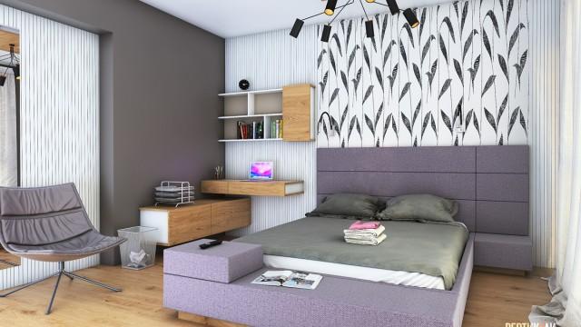 Интериорен проект на апартамент в град Бургас