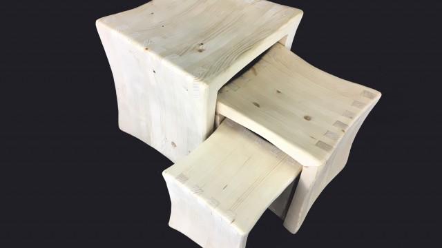 Три табуретки Mood Wood Design