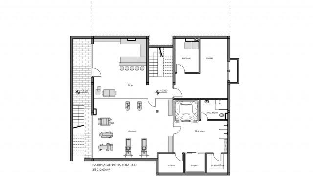 Архитектурен проект на еднофамилна жилищна сграда в с. Дъбник, общ. Поморие