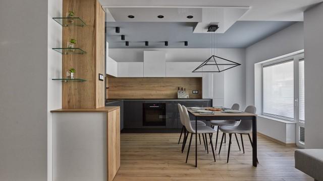 Интериорен проект на апартамент в град Бургас, Лазур