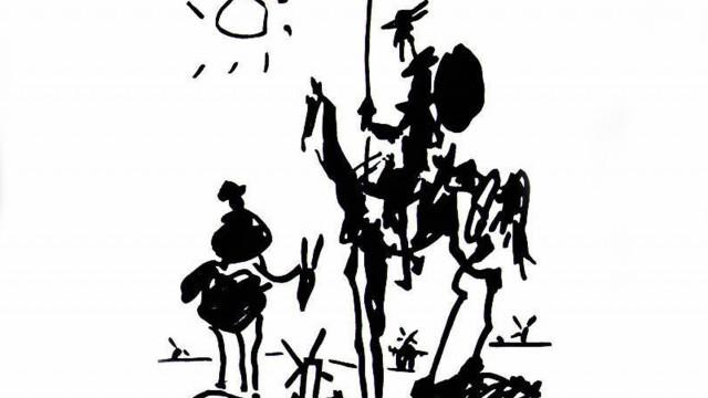 "ПЛАСТИЧЕН ПРОЕКТ ""Скиците на Пикасо"" - Дон Кихот"