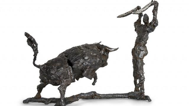 """ПЛАСТИЧЕН ПРОЕКТ по скицaтa """"Toros y Toreros II"""" на Пабло Пикасо - Проектирано от ВЕРТИКАЛИ - Архитектурно и интериорно проектиране"""