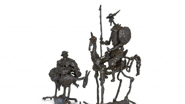 """ПЛАСТИЧЕН ПРОЕКТ по скицата """"Don Quixote"""" на Пабло Пикасо - Проектирано от ВЕРТИКАЛИ - Архитектурно и интериорно проектиране"""