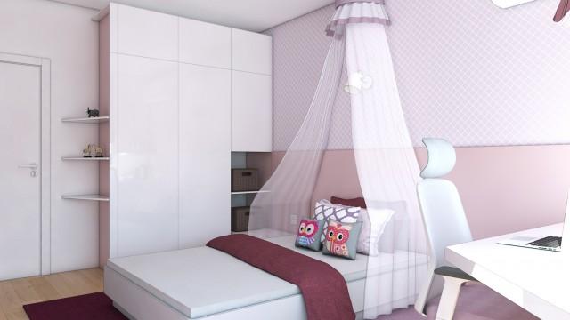 Интериорен проект на апартамент в град София