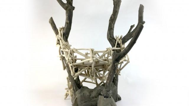 Mood Wood свободна структура – катерушка с наблюдателна площадка