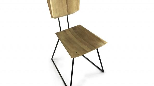Трапезен стол - Проектирано от ВЕРТИКАЛИ - Архитектурно и интериорно проектиране