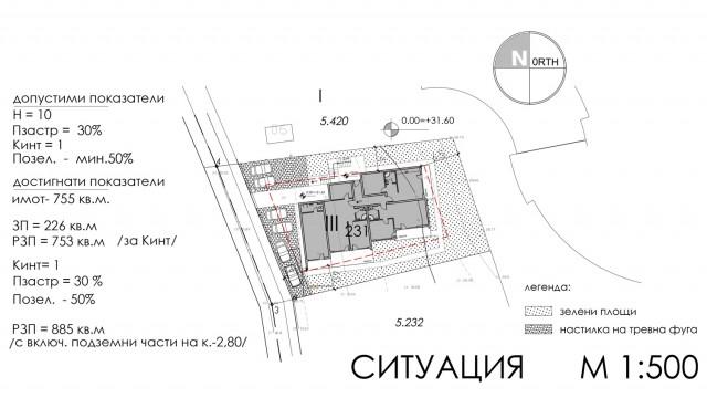 Идеен архитектурен проект на сграда за отдих и курорт в м. Аклади, гр. Черноморец, общ. Созопол