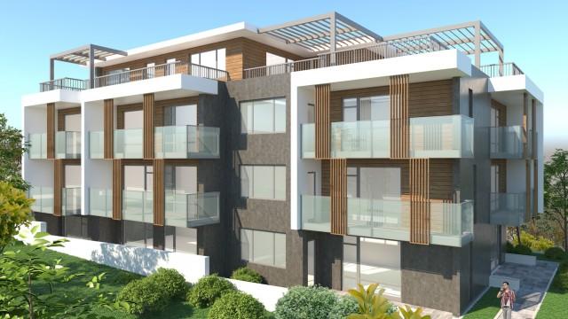 Идеен архитектурен проект на сграда за отдих и курорт в м. Аклади, гр. Черноморец, общ. Созопол - Проектирано от ВЕРТИКАЛИ - Архитектурно и интериорно проектиране