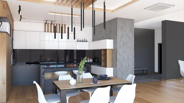 Интериорен и архитектурен проект на едноетажна къща
