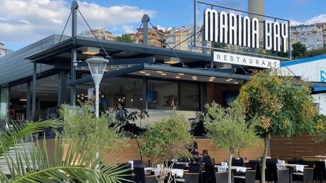 интериорен проект на ресторант Марина бей, яхтено пристанище Созопол - Проектирано от ВЕРТИКАЛИ - Архитектурно и интериорно проектиране