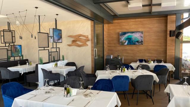интериорен проект на ресторант Марина бей, яхтено пристанище Созопол